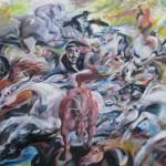 Catching wild horses II