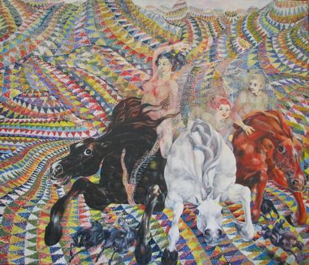 The Peri Princesses 150x130 cm