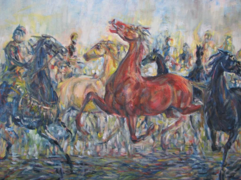 Infångande av hästar